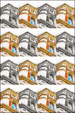Buildimng collage Stock Image