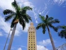 Buildin da imprensa de Miami fotografia de stock