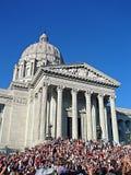 buildin stan Missouri kapitolu zdjęcie stock