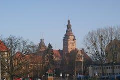 Buildind del oeste del gobierno estatal de Pomerania Imágenes de archivo libres de regalías