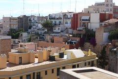 Buildind s roof of Tarragona, Spain Stock Photography