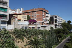 Buildind of Tarragona, Spain Stock Photography