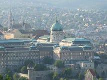 Buildingฺ landskapsikt i Budapest, Ungern Royaltyfria Bilder