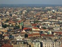 Buildingฺ landskapsikt i Budapest, Ungern Royaltyfria Foton