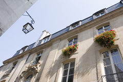 Building of apartments in Paris. France Royalty Free Stock Photography