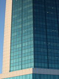 Building. High city building with a glass facade Royalty Free Stock Photo