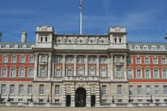 Building. London architecture old building near buckingham palace stock image