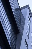 Building. Abstract reflecting windows on large business building Stock Images
