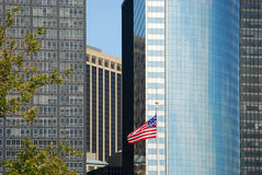 Building. In the downtown of New york Royalty Free Stock Photos