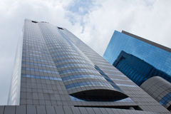 Building. Modern Buildings of Financial institution at bangkok thailand stock photography