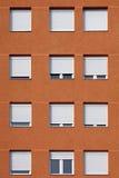 Building. Windows, detail, windows of modern Stock Photo