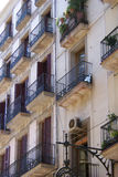 Building. Near the Gothic quarter in Barcelona Stock Photo
