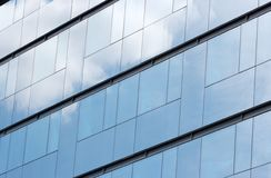 Building. Glass pattern of a modern office building Stock Photography