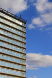 Building. Image of a of a building under the blue sky Stock Image