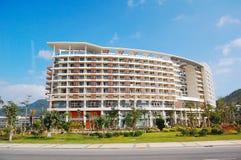 Building. Hotel building in sanya, Hainan stock image