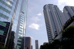 Beijing CBD. The office buildings in Beijing CBD Stock Photo