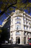 Building. Old-style building in madrid Stock Photo