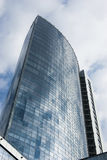Building. Office building reaching to the sky Royalty Free Stock Photo
