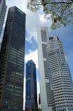 Building. Modern buildings on Clark quay, Singapore stock image