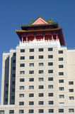 Building. Image of a  new building in BEIJING Stock Photography