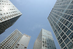 Building. S in beijing city china Stock Photography