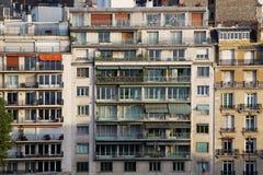 Building in 8th arrondissement of Paris Stock Photo