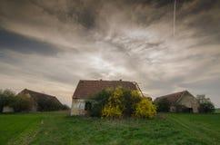 Building on  abandoned farm Royalty Free Stock Image