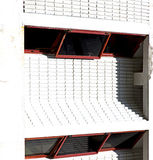 building abstract    in the  concrete    brick shadow  angle Stock Images