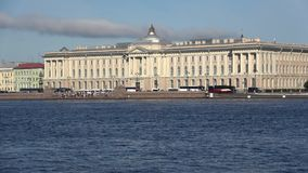 The building of the Academy of arts. Saint Petersburg, Russia