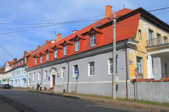 The building of administration of the Ozyorsk district Stock Images