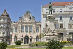Building of Agency Bank of Portugal Royalty Free Stock Image