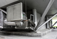 Building air conditioner Royalty Free Stock Photos