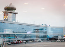Building of the airport Domodedovo Stock Images