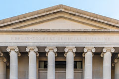 Building of the Alabama Supreme Court. The Heflin-Torbert Judicial Building, home of the Supreme Court in Montgomery Alabama stock images