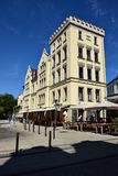 Building at the Albertsplatz square in Coburg, Germany Stock Photography
