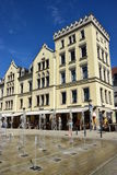 Building at the Albertsplatz square in Coburg, Germany Royalty Free Stock Photography