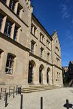 Building at the Albertsplatz square in Coburg, Germany Royalty Free Stock Photos