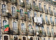 Building in Alfama, Portugal Royalty Free Stock Photography