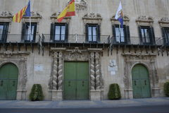Building in Alicante Royalty Free Stock Image