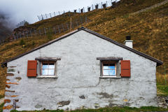 Building in Alps. Stock Images