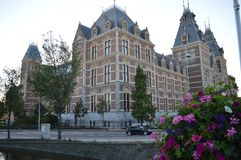 Building in Amsterdam Royalty Free Stock Images