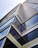 Building Angles. Different angles from a building in downtown Austin royalty free stock photos