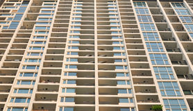 Building of apartments in Bangkok. A building of apartments in Bangkok royalty free stock photo