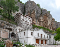 Building of apartments of habitation of monastery Stock Image