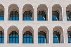 Building and arc architecture Royalty Free Stock Photo