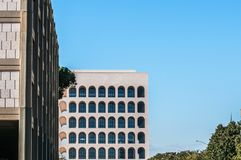 Building and arc architecture and sky Royalty Free Stock Photography