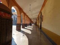portals in the Centre of the city of Toluca, Mexico