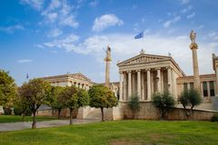 Archaeological Museum in Athens, Greece royalty free stock image
