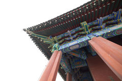 Building Architecture of  Forbidden City in Beijing, China Royalty Free Stock Image