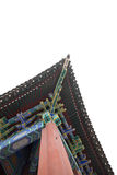 Building Architecture of  Forbidden City in Beijing, China Royalty Free Stock Photography